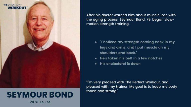 Client Testimonial of Seymour Bond