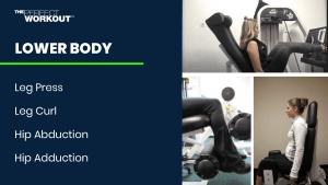 Lower body strength training for women