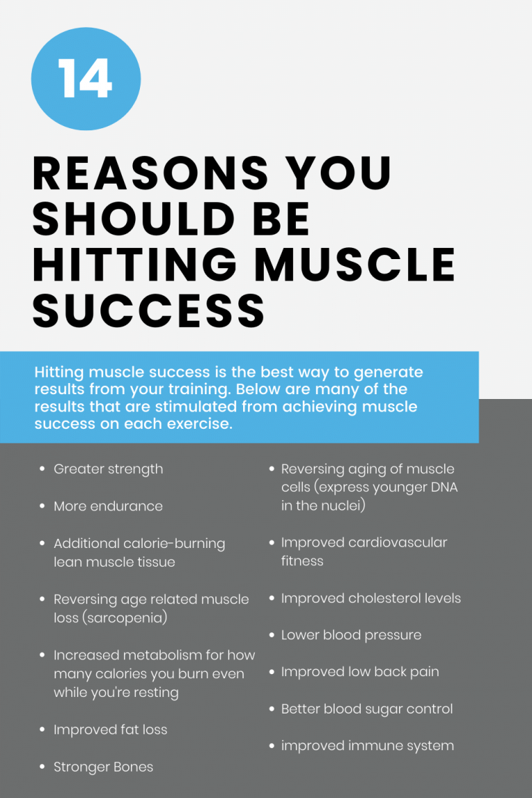 14 reasons why you should be hitting muscle success with online personal training