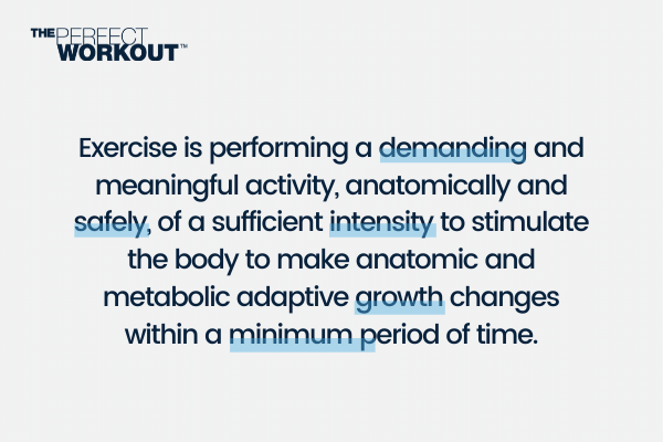 What is exercise and slow motion strength training