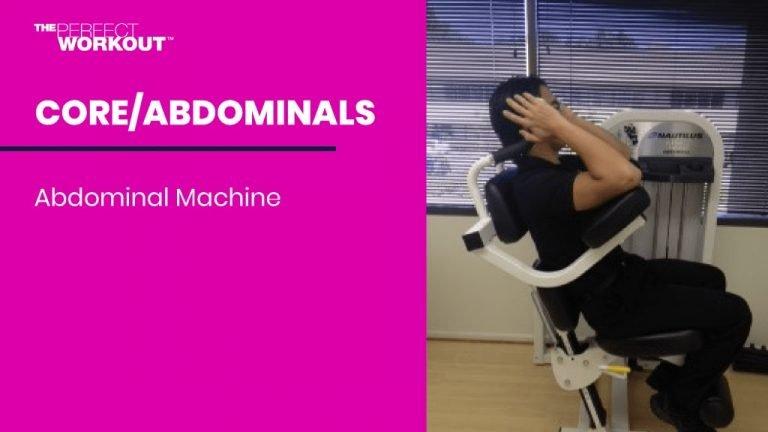 in studio abdominal machine training