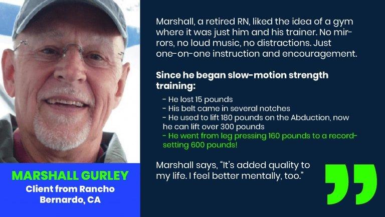 Marshall Gurley Client Testimonial