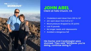 John Abel the perfect workout