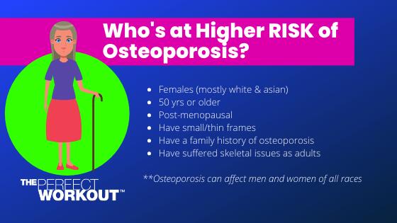 Osteoporosis - Higher Risk