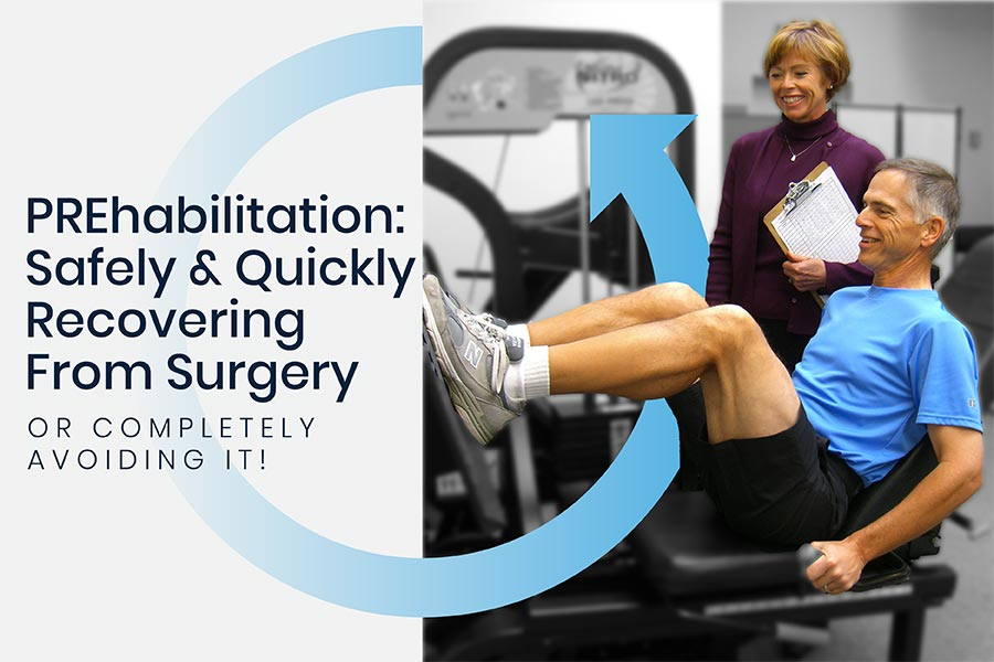 Your Best Chance at Quickly Recovering from Surgery… Or Avoiding it Altogether