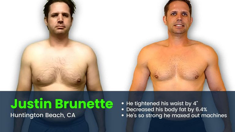 Personal training in Huntington Beach before and after photos