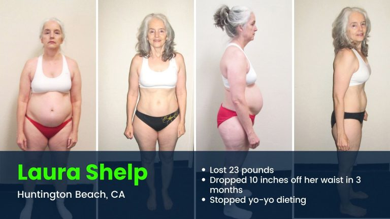 Huntington Beach client weight loss results
