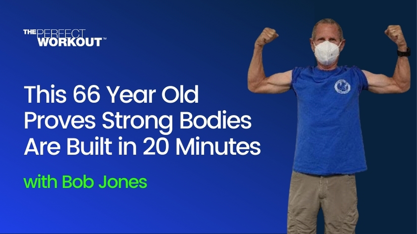 This 66 Year Old Proves Strong Bodies Are Built in 20 Minutes