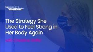 strength training strategy