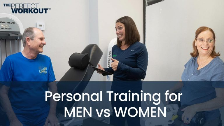 Men vs Women personal training