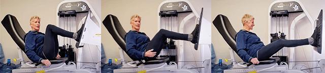 Leg Press Slow Motion Strength Training
