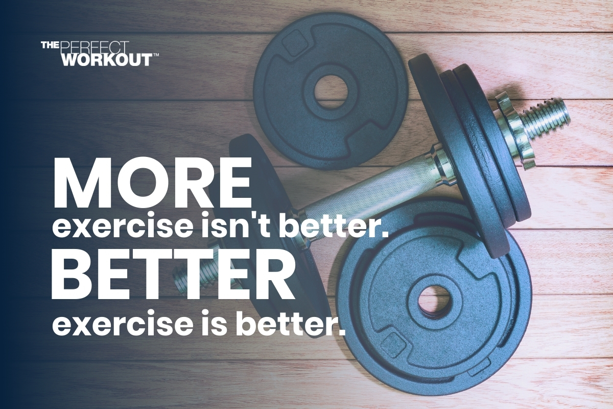 more exercise isn't better