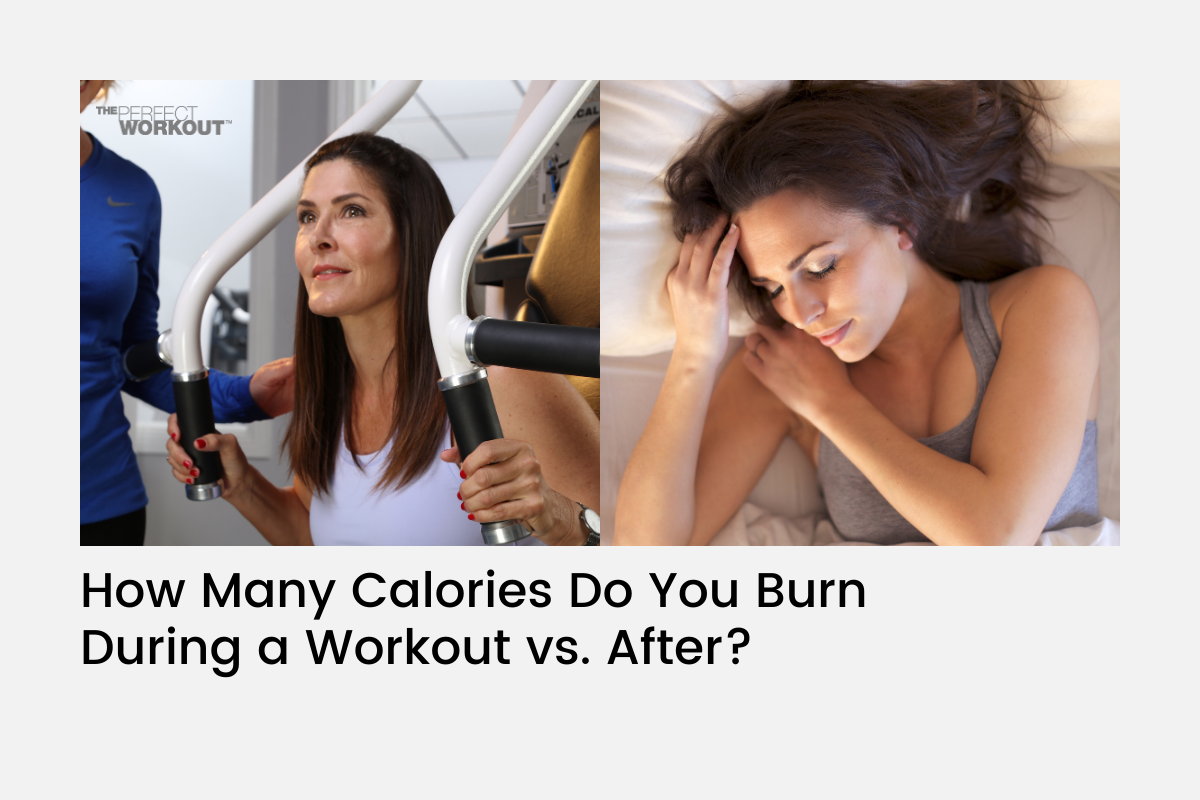 How Many Calories Do You Burn During a Workout vs. After?