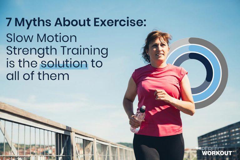 Exercise Myths Female exercising