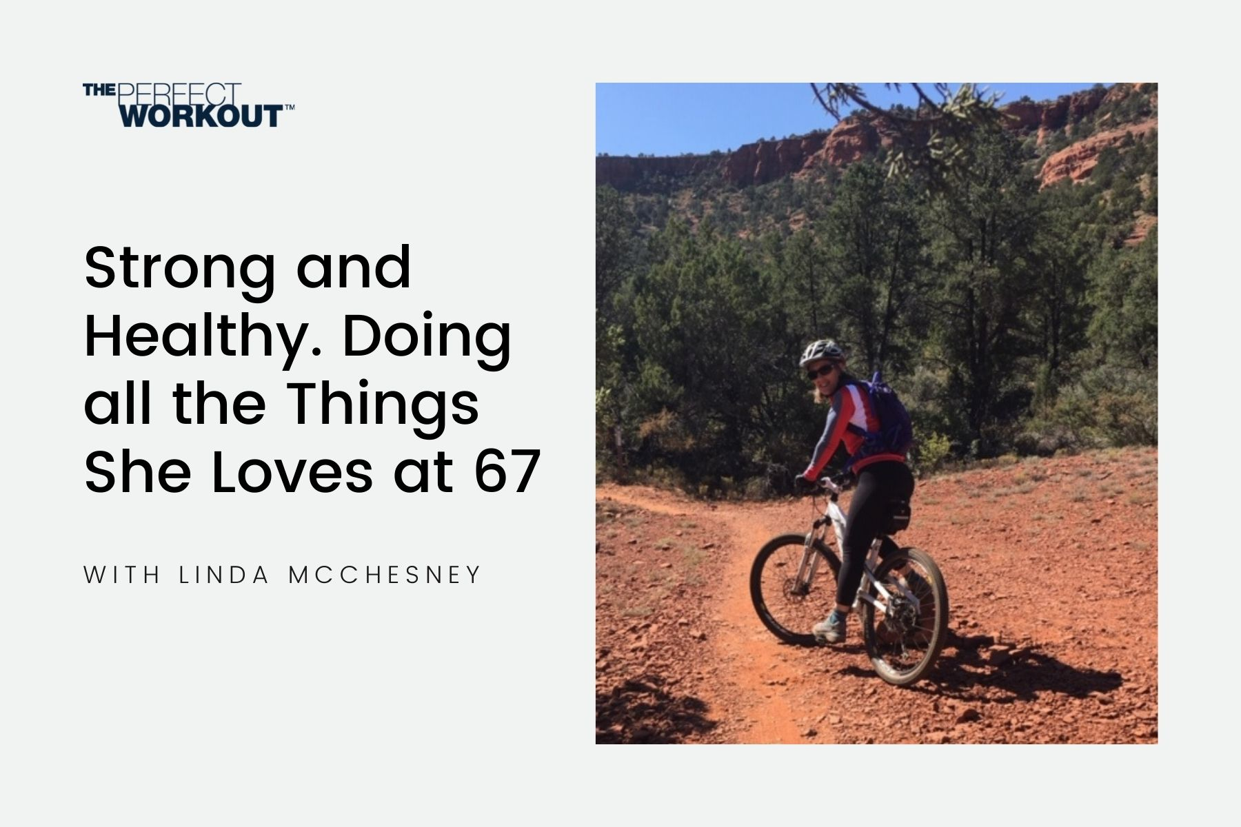 Strong and Healthy: Doing all the Things She Loves at 67