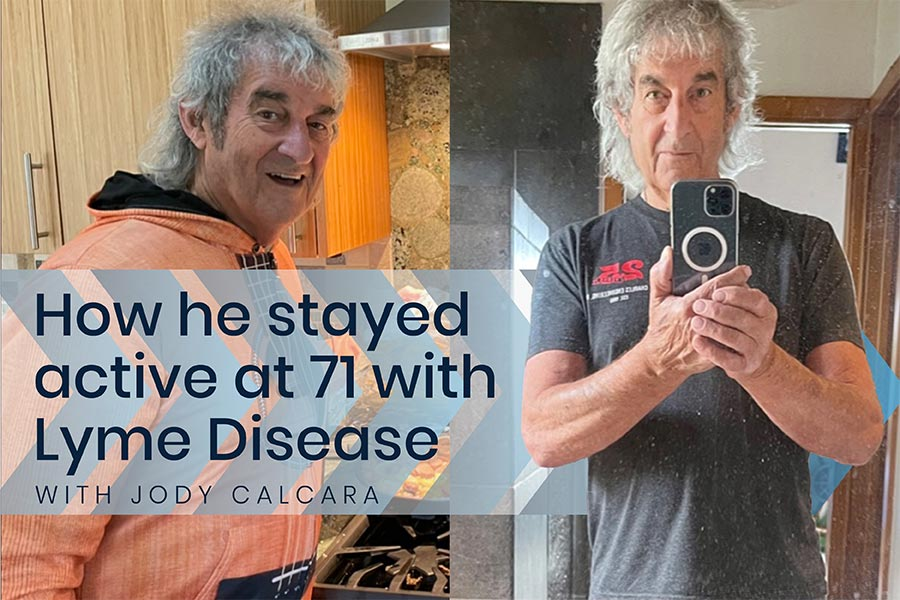 How He's Stayed Active at 71 with Lyme Disease