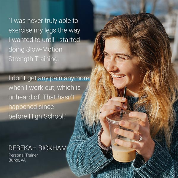 Quote from trainer Rebekah Bickham