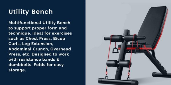 the perfect workout safety standards fitness innovation multifunctional utility bench for virtual training at home